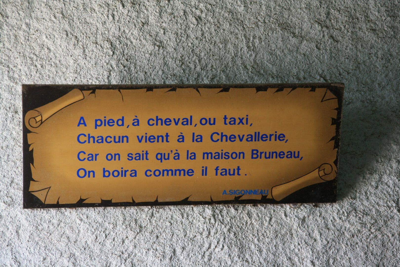 Citation de la maison BRUNEAU Jean Charles