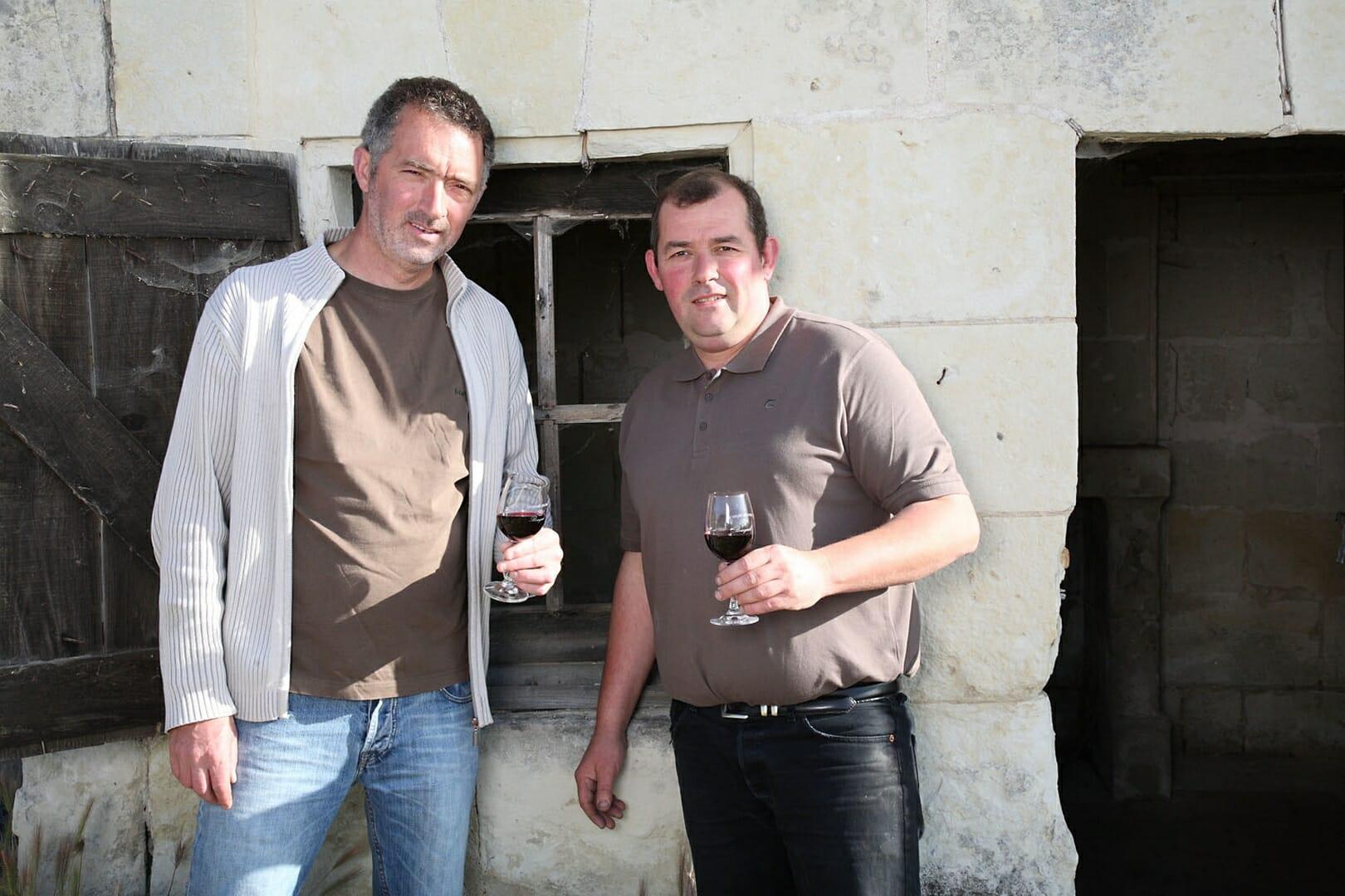 Domaine Les Pins Christophe et Philippe PITAULT à la loge de vigne
