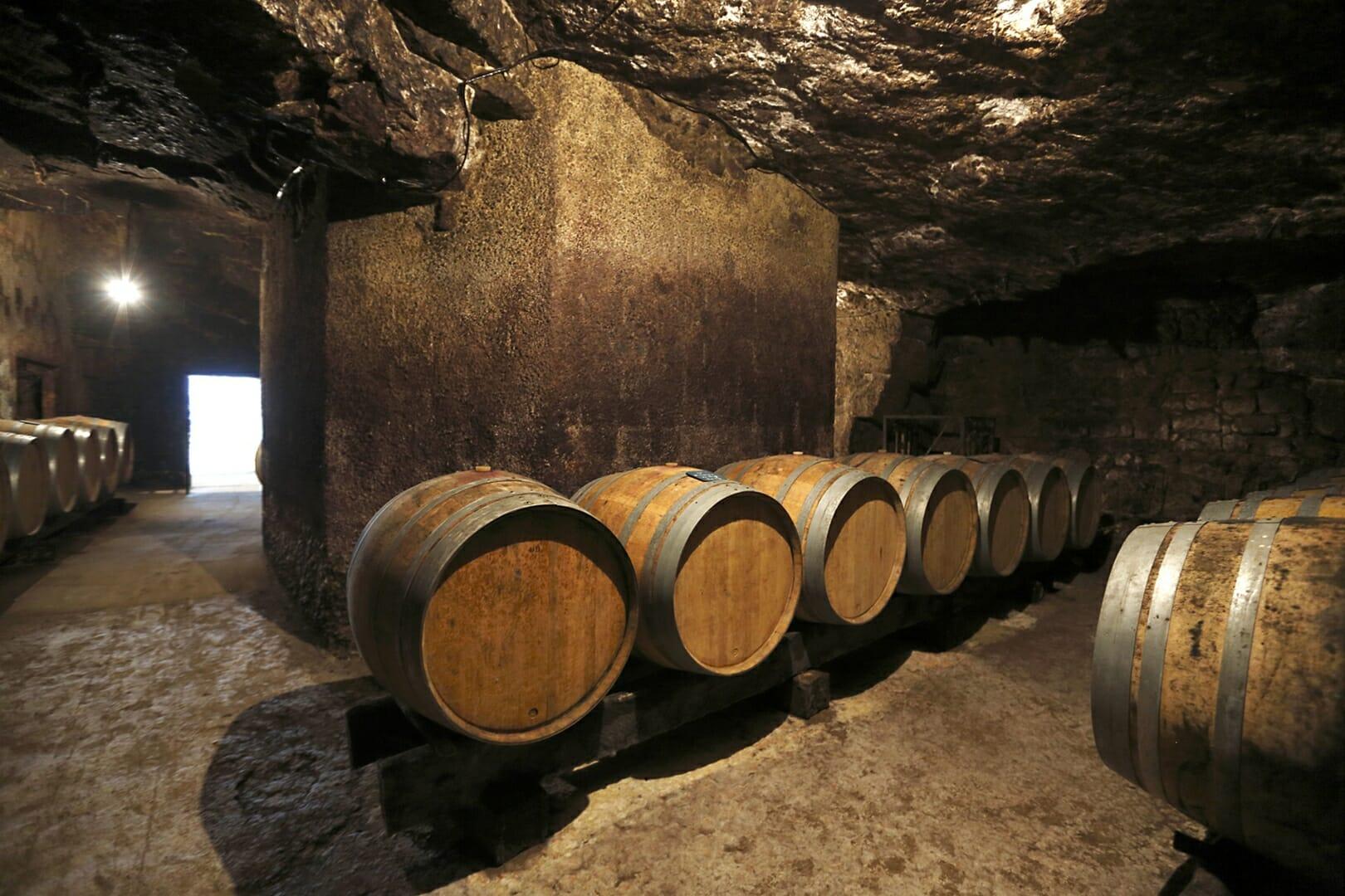 Domaine Yannick AMIRAULT Cave