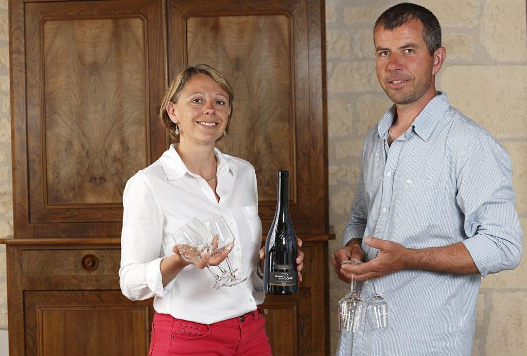 Hervé et Stéphanie MORIN Domaine de la Rodaie Saint Nicolas de Bourgueil