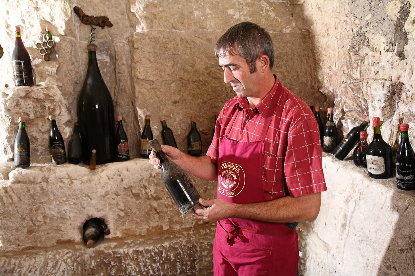 Le Bourg de Paille Henri BOURDIN en Cave