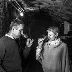 Dégustation en cave chez Hervé et Stéphanie MORIN à Saint Nicolas de Bourgueil