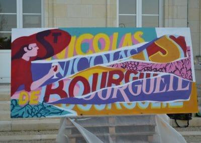 vignoble Saint Nicolas de Bourgueil | Graff de Florian Schneider