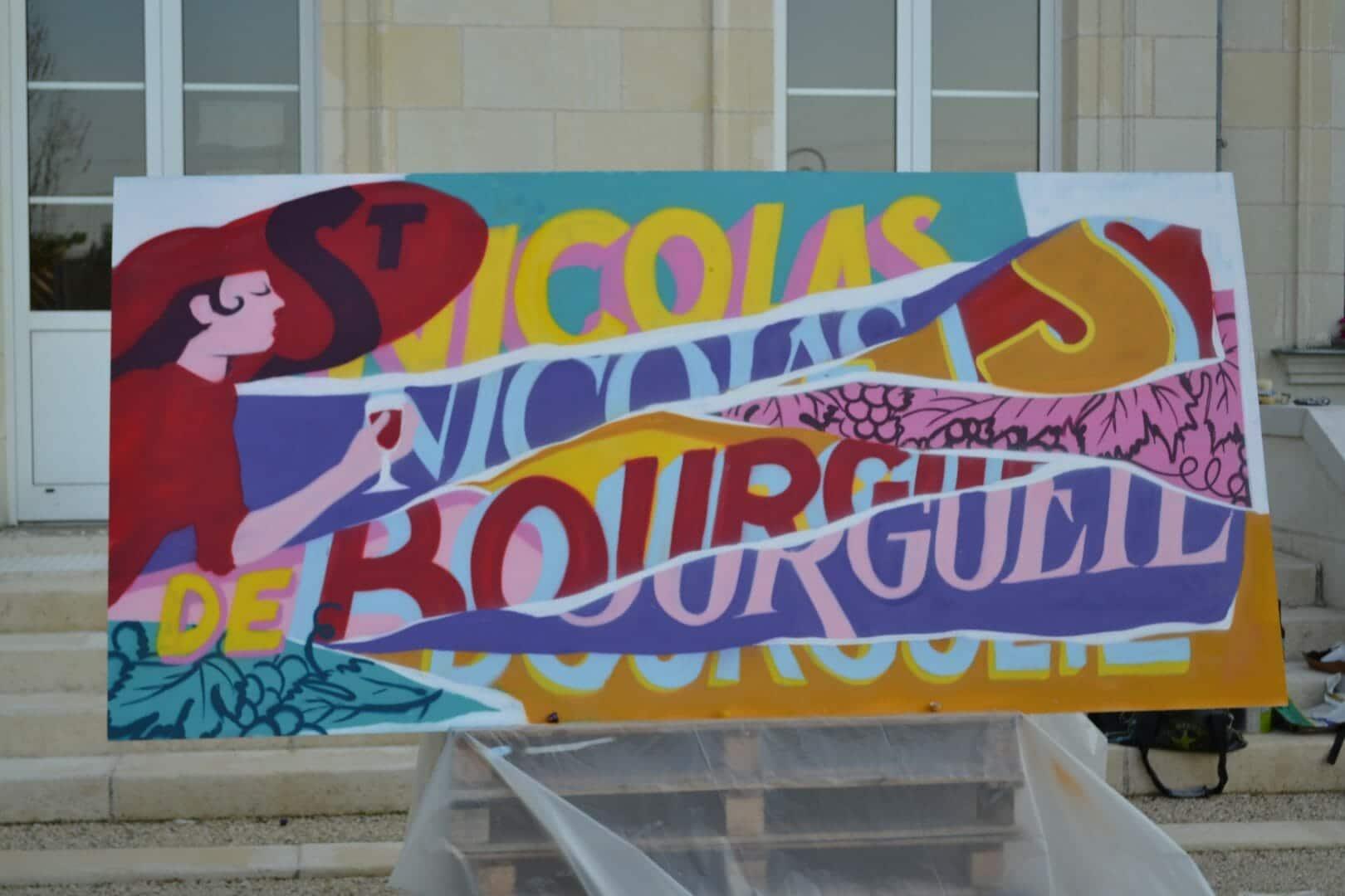 Graff de Florian Schneider Saint Nicolas de Bourgueil